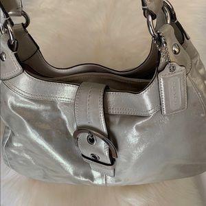 Glistening Coach purse